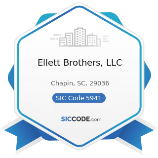 Ellett Brothers, LLC - SIC Code 5941 - Sporting Goods Stores and Bicycle Shops