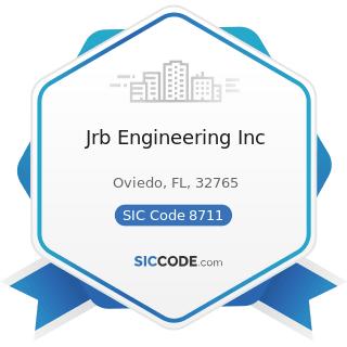 Jrb Engineering Inc - SIC Code 8711 - Engineering Services
