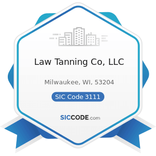 Law Tanning Co, LLC - SIC Code 3111 - Leather Tanning and Finishing