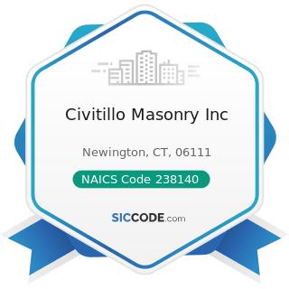 Civitillo Masonry Inc - NAICS Code 238140 - Masonry Contractors