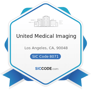 United Medical Imaging - SIC Code 8071 - Medical Laboratories