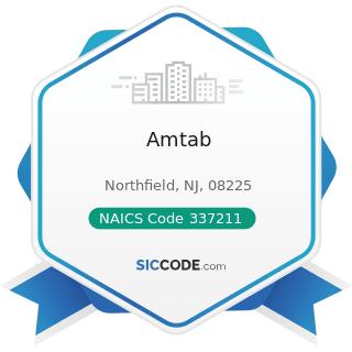 Amtab - NAICS Code 337211 - Wood Office Furniture Manufacturing