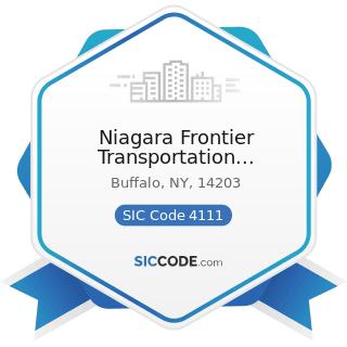 Niagara Frontier Transportation Authority - SIC Code 4111 - Local and Suburban Transit