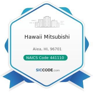 Hawaii Mitsubishi - NAICS Code 441110 - New Car Dealers