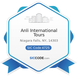 Anli International Tours - SIC Code 4725 - Tour Operators