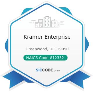 Kramer Enterprise - NAICS Code 812332 - Industrial Launderers