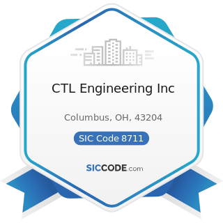 CTL Engineering Inc - SIC Code 8711 - Engineering Services