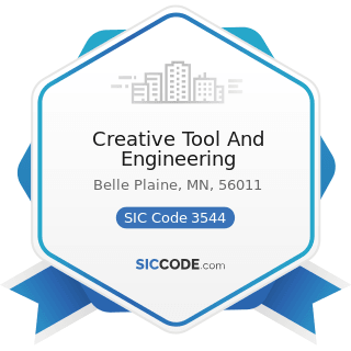 Creative Tool And Engineering - SIC Code 3544 - Special Dies and Tools, Die Sets, Jigs and...