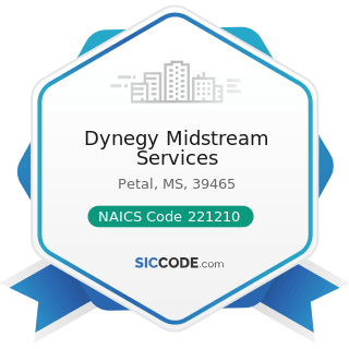 Dynegy Midstream Services - NAICS Code 221210 - Natural Gas Distribution