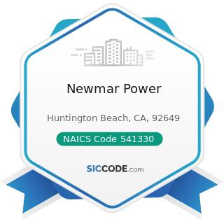 Newmar Power - NAICS Code 541330 - Engineering Services