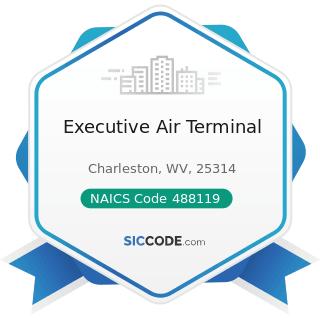 Executive Air Terminal - NAICS Code 488119 - Other Airport Operations