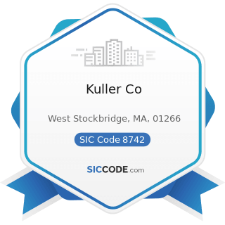 Kuller Co - SIC Code 8742 - Management Consulting Services