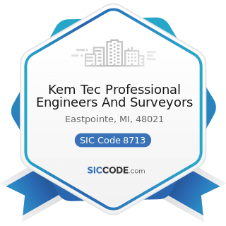 Kem Tec Professional Engineers And Surveyors - SIC Code 8713 - Surveying Services
