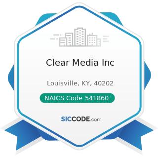 Clear Media Inc - NAICS Code 541860 - Direct Mail Advertising