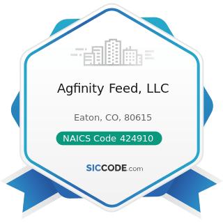 Agfinity Feed, LLC - NAICS Code 424910 - Farm Supplies Merchant Wholesalers