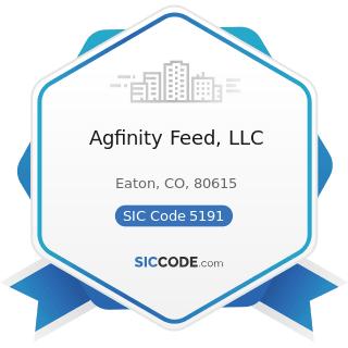 Agfinity Feed, LLC - SIC Code 5191 - Farm Supplies