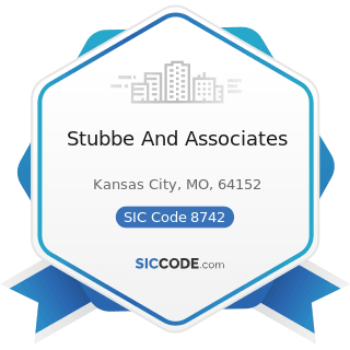 Stubbe And Associates - SIC Code 8742 - Management Consulting Services