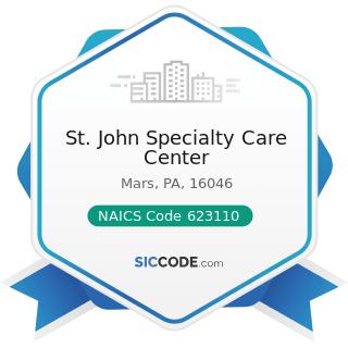 St. John Specialty Care Center - NAICS Code 623110 - Nursing Care Facilities (Skilled Nursing...
