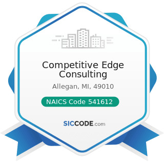 Competitive Edge Consulting - NAICS Code 541612 - Human Resources Consulting Services