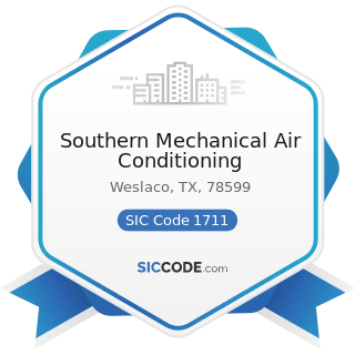 Southern Mechanical Air Conditioning - SIC Code 1711 - Plumbing, Heating and Air-Conditioning