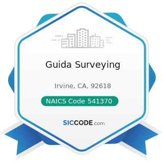 Guida Surveying - NAICS Code 541370 - Surveying and Mapping (except Geophysical) Services