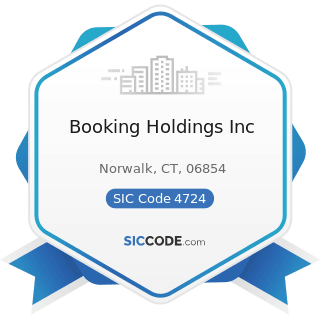 Booking Holdings Inc - SIC Code 4724 - Travel Agencies