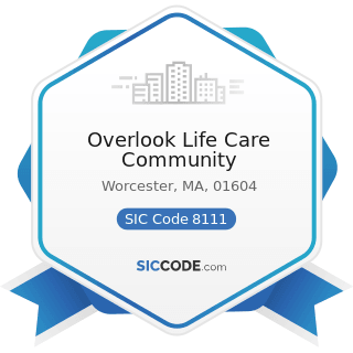 Overlook Life Care Community - SIC Code 8111 - Legal Services