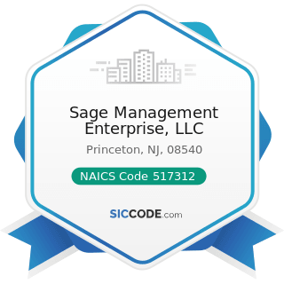 Sage Management Enterprise, LLC - NAICS Code 517312 - Wireless Telecommunications Carriers...