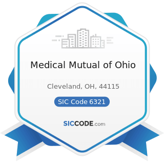 Medical Mutual of Ohio - SIC Code 6321 - Accident and Health Insurance