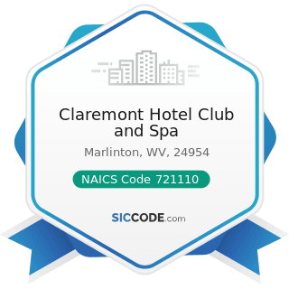 Claremont Hotel Club and Spa - NAICS Code 721110 - Hotels (except Casino Hotels) and Motels