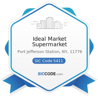 Ideal Market Supermarket - SIC Code 5411 - Grocery Stores