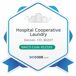 Hospital Cooperative Laundry - NAICS Code 812320 - Drycleaning and Laundry Services (except...
