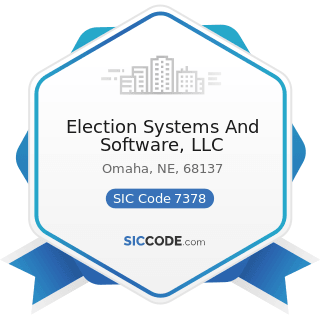 Election Systems And Software, LLC - SIC Code 7378 - Computer Maintenance and Repair