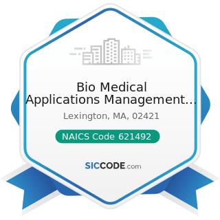 Bio Medical Applications Management Company Inc - NAICS Code 621492 - Kidney Dialysis Centers