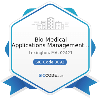 Bio Medical Applications Management Company Inc - SIC Code 8092 - Kidney Dialysis Centers