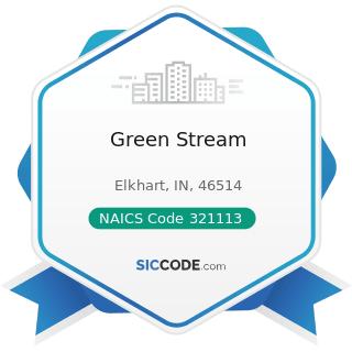 Green Stream - NAICS Code 321113 - Sawmills