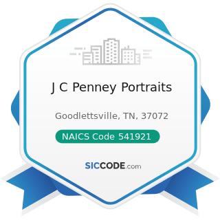 J C Penney Portraits - NAICS Code 541921 - Photography Studios, Portrait