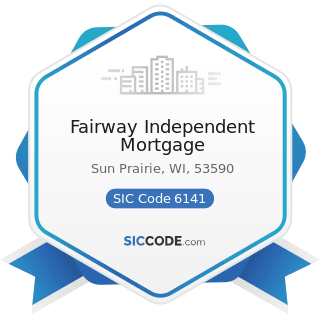 Fairway Independent Mortgage - SIC Code 6141 - Personal Credit Institutions