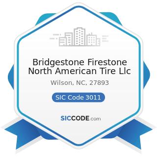Bridgestone Firestone North American Tire Llc - SIC Code 3011 - Tires and Inner Tubes