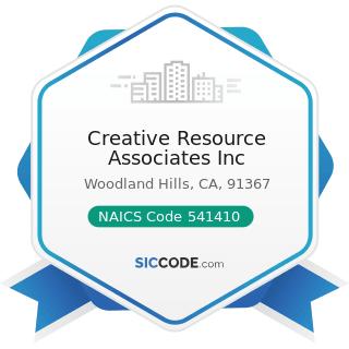 Creative Resource Associates Inc - NAICS Code 541410 - Interior Design Services