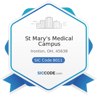 St Mary's Medical Campus - SIC Code 8011 - Offices and Clinics of Doctors of Medicine