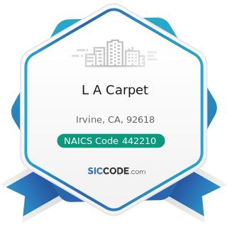 L A Carpet - NAICS Code 442210 - Floor Covering Stores