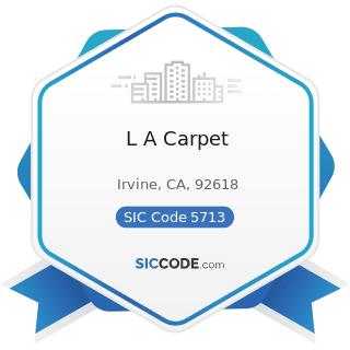 L A Carpet - SIC Code 5713 - Floor Covering Stores