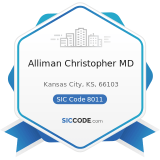 Alliman Christopher MD - SIC Code 8011 - Offices and Clinics of Doctors of Medicine