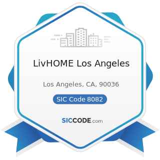 LivHOME Los Angeles - SIC Code 8082 - Home Health Care Services
