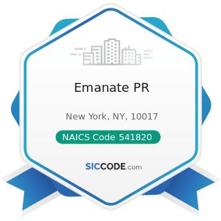 Emanate PR - NAICS Code 541820 - Public Relations Agencies