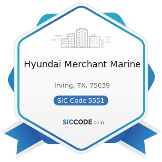 Hyundai Merchant Marine - SIC Code 5551 - Boat Dealers