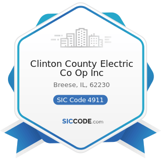 Clinton County Electric Co Op Inc - SIC Code 4911 - Electric Services
