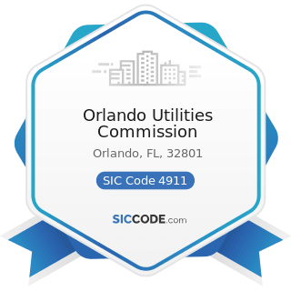 Orlando Utilities Commission - SIC Code 4911 - Electric Services