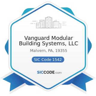 Vanguard Modular Building Systems, LLC - SIC Code 1542 - General Contractors-Nonresidential...